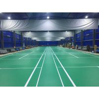 运动塑胶地板 羽毛球运动地胶