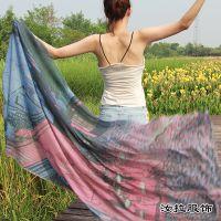 围巾工厂,印花围巾生产加工厂家,外贸围巾OEM工厂-浙江汝拉服饰