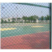 广东河源勾花网围栏球场隔离网体育运动场护栏网轻质优良耐腐