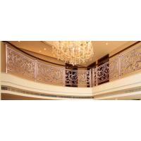 高档装修设计公司力推的一款室内楼梯护栏