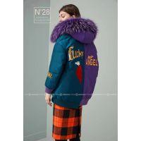 高端N28羽绒服库存品牌折扣女装批发一线正品货源