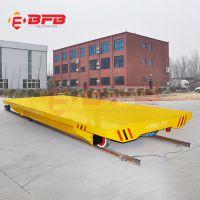 河南新乡定制台面带滚轮支架轨道搬运车 直线往复运行低压电动平车品质保证