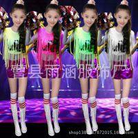 六一儿童啦啦操装服健美操表演服中小学生演出服舞蹈练功服
