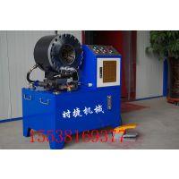 广东中山厂家直销压管机 胶管扣压机 液压缩管机 时捷机械