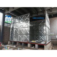 沃迪装配式水箱热镀锌水箱镀锌钢板水箱