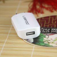 蓝雨C11 1.1A单USB适配器充电头 平果安卓手机充电器ipd充电头