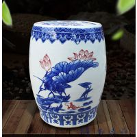 10斤20斤陶瓷米缸带盖储蓄罐米桶腌菜腌肉坛子景德镇瓷器