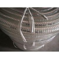路迈品牌无味透明耐寒零下40度PVC钢丝软管 塑料钢丝管