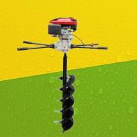 葡萄树柱子打坑机 新款汽油打孔机 快速钻树挖坑机参数