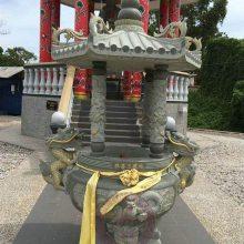 寺庙长方形香炉 雕刻精美图案简单大方 欢迎来厂参观
