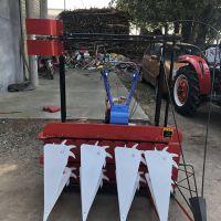稻麦收获低矮植物收获机/收割机1.8米单割台