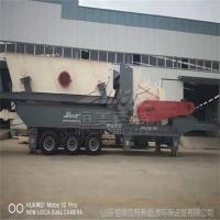 广东轮胎式建筑垃圾破碎机厂家 花岗石破碎机出厂价