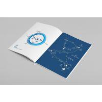 企业宣传画册彩页印刷 彩色宣传广告图册 公司产品画册可定制logo