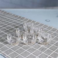山西厂家直销人工吹制冷纹无铅水晶描金玻璃茶杯