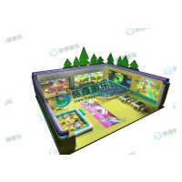 淘气堡投影游戏机AR双屏墙面砸球游乐设施