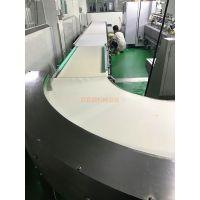 厂家百宜顺供应食品厂生产流水线不锈钢食品输送线食品带输送机