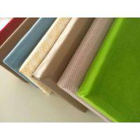 2.5厘米厚布艺吸音板 墙面防撞吸声板什么价格