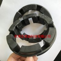 Nor-Mex黑色缓冲减震弹性体胶圈Pb72/Pb82-RINGFEDER TNM梅花垫