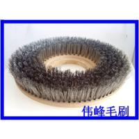 单擦机17寸304不锈钢钢丝刷耐酸耐碱17寸仿古钢丝混合刷