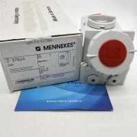 实物德国MENNEKES/曼奈柯斯插座TYP7010A/32A专用冷藏箱3H正品全新