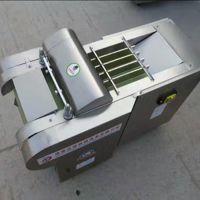 酒泉食堂专用切菜机 660型多功能萝卜切丝切片机 启航大学食堂餐厅切块机