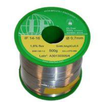 歐洲Interflux IF14-16 SN96.5Ag3Cu0.5 直徑0.7mm錫線