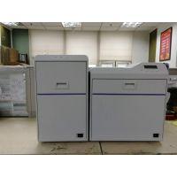 全国机场工作证打印机航空证卡打印机 JVC CX7600双面 600点打卡机