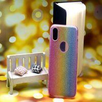外贸爆款 华为 iphone苹果 条闪粉纹渐变二合一手机壳 创意软壳