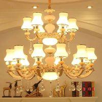 铁艺吊灯乡村田园古典灯具个性时尚优雅款蜡烛吊灯