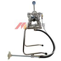 日本岩田DPS-90E气动隔膜泵ANEST IWATA喷漆油泵供漆泵双隔膜泵浦