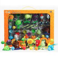 植物大战僵尸儿童公仔玩偶向日葵发射686-7男孩益智套装玩具批发