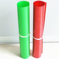 厂家生产pet片材覆膜丝印卷材APET塑料片材彩色磨砂pp半透明片混批