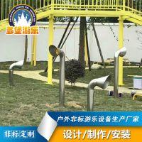 厂家直销户外感统玩具儿童传声筒幼儿园游乐场传声筒游乐设备定制