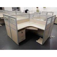 雷业办公家具厂家 订制工位桌 员工屏风桌隔断桌