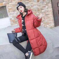 棉衣服女18年新款冬季棉衣中长款欧美修身版型大毛领加厚外套女北京