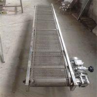 乌鲁木齐挡板网带输送机 厂家推荐食品专用输送机