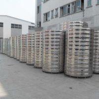 淮南 圆柱形水箱 不锈钢水箱