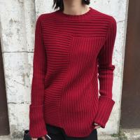 冬季批发便宜毛衣女装上衣羊毛衫 杭州韩版时尚长款毛衣圆领毛衣2-6元批发