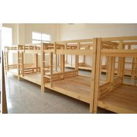 厂家直销学生上下铺员工宿舍双层床实木高低床学校工厂家具定制