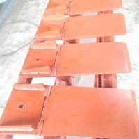 河北锦虹地铁6.8米洞门帘布橡胶板、翻板、圆环板、销套、M20双头螺柱厂家图纸设计加工