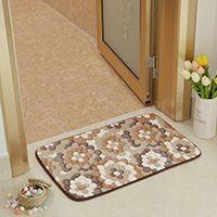 吸水地毯卫生间浴室防滑脚垫子40*60cm