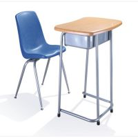 学生学习课桌椅 ,中小学课桌椅,型号KXY-8135,学习活动桌,厂简约现代金属好椅达台
