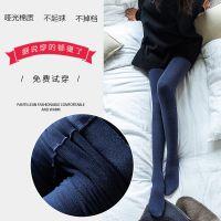 连裤袜女保暖春秋冬款中厚薄绒打底袜加绒加厚冬季连体丝袜黑一体