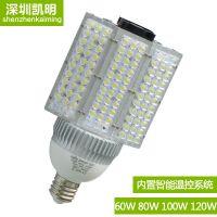陕西120WE40玉米灯泡 LED路灯头 120WLED路灯价格 怎么安装
