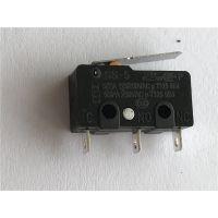 供应微动开关3脚带直柄 SS-5微动小型开关大电流 高寿命 品质优良 国际认证