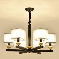 新中式吊灯客厅灯具中国风大吊灯现代简约新中式餐厅卧室创意吊灯
