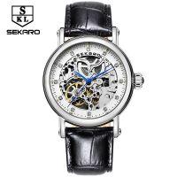 个性瑞士高档品牌手表 手表女款时尚新款 防水镂空机械表 女士