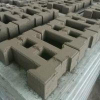 扬名供应铰链式护坡砖工字型水工块 海绵城市混凝土护坡砌块直销