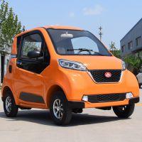 厂家直销新款式四轮电动车代步油电两用迷你代步车成人接孩子铁k