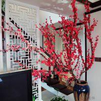 花格通花密度板艺术镂空隔断屏风木塑板吊顶玄关电视背景墙